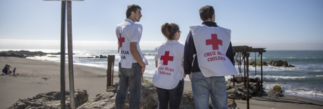 Seaside communities in Chile were able to evacuate safely with help from the Red Cross.